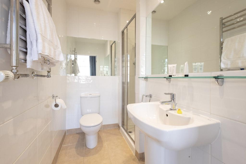 Room 3 bathroom at the Edgar Townhouse in Bath